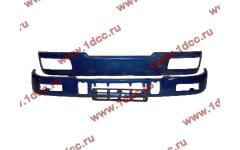 Бампер C синий верхний+нижний (в сборе) фото Нижневартовск