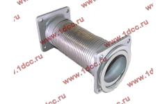 Гофра-труба выхлопная с квадратными фланцами FN для самосвалов фото Нижневартовск
