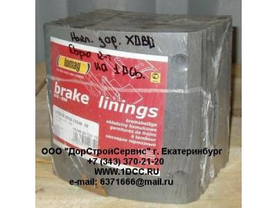 Накладка тормозная задняя европейская ширина 185 H/SH ЕВРОПА 19246 фото 1 Нижневартовск